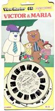 RARE vintage foreign View Master VICTOR & MARIA D224E Euro Cartoon viewmaster !+