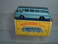 MATCHBOX LESNEY SERIES NO40 B LEYLAND ROYAL TIGER COACH SOME CHIPS IN BOX C PICS