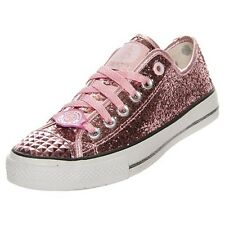 NEW SKECHERS 39424 PINK GLITTER EXPLOSION BIRTHDAY EASTER SNEAKER SHOES 6