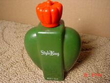 Vintage Men's Talc Powder Style King S. Buchsbaum Jar