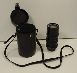 Tamron Auto Zoom Lens 1:3.8 f=70-150mm with Case Vintage 5611731