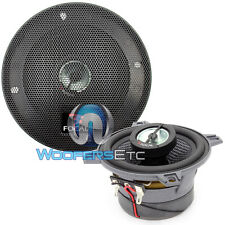 "FOCAL 100CA1 4"" CAR AUDIO 2-WAY ALUMINUM TWEETERS COAXIAL SPEAKERS 100 CA1 NEW"