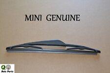Mini Cooper S Rear Windshield Wiper Blade Genuine Brand New 61 62 7 079 943