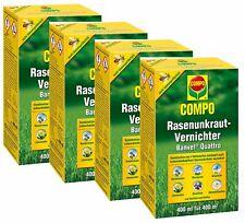 Sparset: 4 x COMPO Rasenunkraut-Vernichter Banvel® Quattro, 400 ml