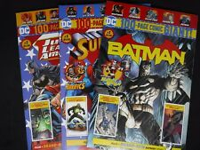 Batman Giant #1, Superman Giant #1, Justice League Giant #1, Walmart Exclusives