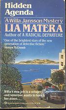 Hidden Agenda by Lia MAtera (1992,Paperback)