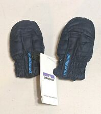 NWT Patagonia Baby Puff Mitts Mittens 0-3 Months Navy Blue 60551 $39