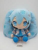 "Hatsune Miku A1009 Vocaloid Yuki Snow Taito 2012 Plush 6"" TAG Toy Doll Japan"