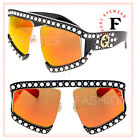 GUCCI AUTHENTIC Hollywood Forever 0234 Black Orange Pearl Sunglasses GG0234S 002
