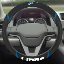 Detroit Lions Embroidered Steering Wheel Cover