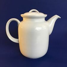 Thomas Germany Rosenthal Vintage White Porcelain  Large Coffee Pot Mcm German