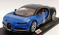 Maisto 1/18 Scale Diecast - 46629 Bugatti Chrion - Blue