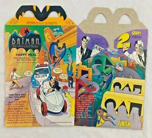 Vintage - McDonalds - Batman - Two Face - Happy Meal Box - 1993 - Unused