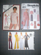 Simplicity 5204 9890 Butterick 6769 Misses Skirts Pants Shirt Bag Shorts Sz 6-12