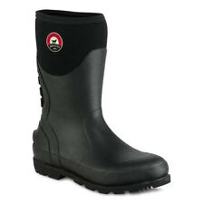 """Irish Setter By Red Wing Mens 89001 12"""" Rubber Boot Black"""