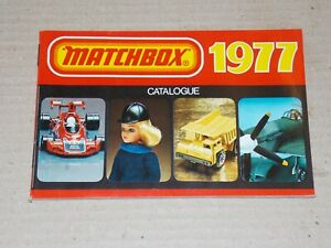 MATCHBOX Katalog 1977, USA Ausgabe - SAMMLUNGSAUFLÖSUNG