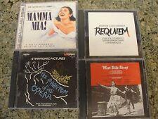 LOT MUSICALS  mama mia Requiem WEST side Story Phanton opera of Jesus superstar