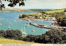 BR82930 mylor pier and jetty mylor bridge falmouth cornwall ship bateaux  uk