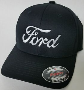 FORD FLEXFIT Embroidered Baseball Hat Cap Flexfit Style 6277