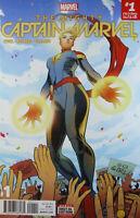The Mighty Captain Marvel #1  Marvel comics 2017 ( Carol Danvers ) ......NM+ 9.8