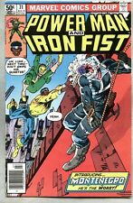 Power Man And Iron Fist #71-1981 fn Frank Miller Misty Knight 1st Montenegro