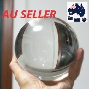 30/40/50mm Clear Glass Crystal Ball for Photography Props Home Decoration Gift