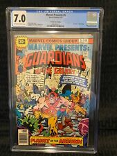MARVEL PRESENTS # 5 - Guardians of the Galaxy - CGC 7.0 - 30 Cent Price Variant