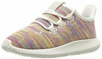 adidas Originals Unisex-Kid's Tubular Shadow Running Shoe, White/Blue/Blue, 3 M