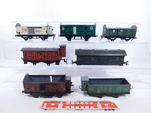 CP849-2# 7x Spur 0  Wagen-Fragmente/ defekt; Foreign+Märklin+Fleischmann etc