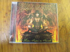 CD Cradle of Filth Bitter Suites to Succubi
