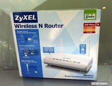 ZyXEL NBG-4615 Wireless 300 Mbit Router 4-Port Switch, DEFEKT AN BASTLER, LESEN