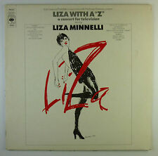 "12"" LP - Liza Minnelli - Liza With A 'Z'. A Concert For Television - L7485"