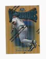 Tony Gwynn 1997 Topps Finest Warrior's Gold Card,# 169,Padres
