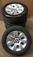 4 BMW Sommerräder Styling 115 Sommer 5er E60 E61 225/55 R16 95W Michelin 6758774