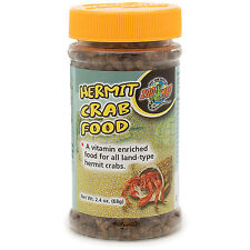 Zoo Med Hermit Crab Food 2.4oz (Free Shipping in USA)