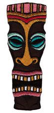 ak28 Tiki Maske Hawaiianisch Voodoo Hawaii Aufnäher Bügelbild Patch 3,6 x 9,5 cm