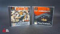 Resident Evil and RE Survivor Bundle PlayStation 1 PAL Version Capcom FREE UK PP