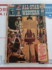 All Star Western #10 1st JONAH HEX GD+ 1972 DC Comics