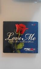 COMPILATION - LOVE ME  CHILLOUT MUSIC FOR SENSUAL PASSION   - DIGIPACK CD