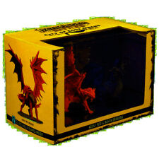 City of Lost Omens Premium Figure Adult Red & Black Dragons