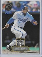 1993 Leaf George Brett Heading For The Hall Insert SP No. 7
