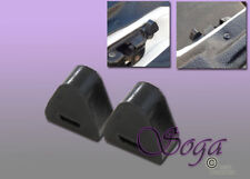 2 PCS BUMPER TAILGATE LATCH RUBBER STOP FOR 99-06 CHEVY SILVERADO GM SIERRA 1500