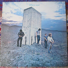 THE WHO*WHO'S NEXT*UK TRACK*HEADHUNTERS INNER*CLASSIC*EX