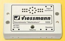 Viessmann 5559 Soundmodul Martinshorn # NUOVO conf. orig. #