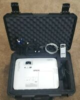 Epson PowerLite 2250U 5000-Lumen WUXGA Projector 144 Hrs w/Storm Case, FREE SHIP