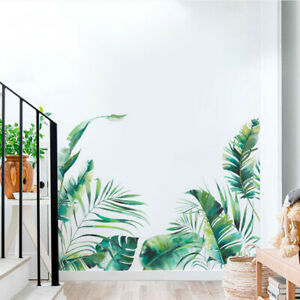 Removable Leaves Wall Sticker Bedroom  Mural Decal Home Art Decor