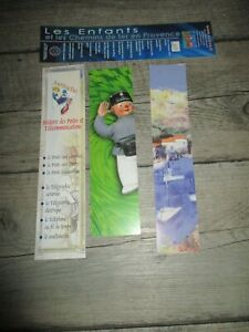 Marque pages collectors-Lot de 4-Thème POSTE& SNCF