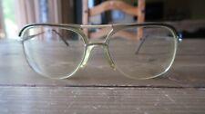 Vintage Stetson Eyeglasses Half Frame Half Wire