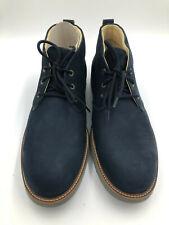 """Samuel Hubbard Men's 13M """"Re-Boot"""" Boots Navy Nubuck 633-03"""