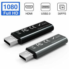 HDMI to USB 2.0 Game Video and Audio Grabber Card Full HD 1080P 30FPS 2020 NEW *